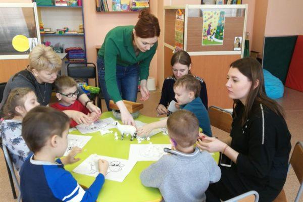 «Незаурядные дети» (групповая работа с детьми с РАС и ТМНР)