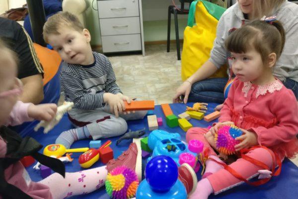 «Идём вместе в будущее» (занятия для детей с ДЦП)